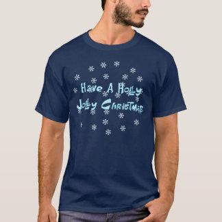 Ha Jolly jul för en järnek T-shirt