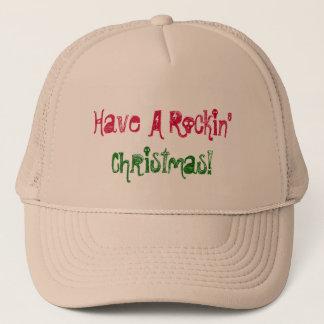 Ha jul för en Rockin'! Hatt Keps