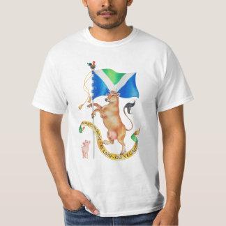 Ha kurage att vara snäll går veganen tee shirt