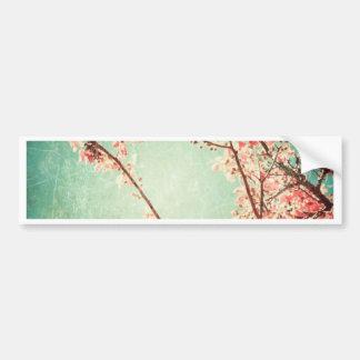 Ha på sig krickaträ för vintage elegant & körsbärs bildekal