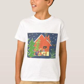 Ha roligt på jul t-shirt