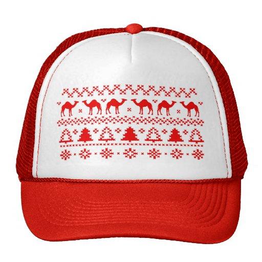 Ha sex med hatten för tröjan för jul för dagkamlet mesh kepsar