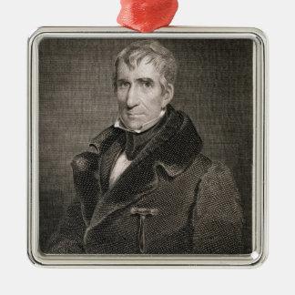 Ha som huvudämne General William Henry Harrison Julgransprydnad Metall