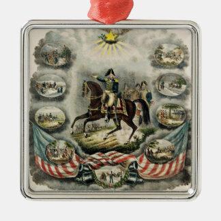 Ha som huvudämne General William Henry Harrison, Julgransprydnad Metall
