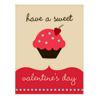 Ha söta en valentin dag! Rolig vykort
