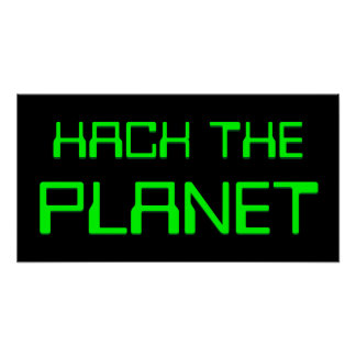 hacka planet poster