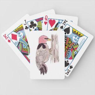 Hackspett Spelkort