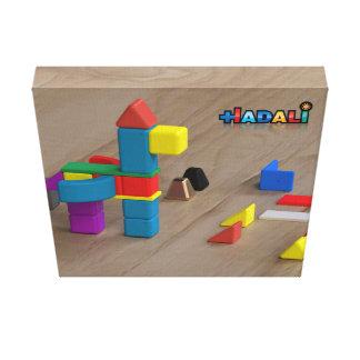 Hadali leksaker - Pegasus på kanfas Canvastryck