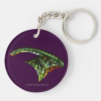 Hadrosaurrundaakryl Keychain