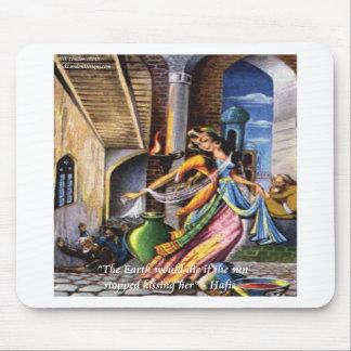 Hafiz (sol & jord) kärlekcitationstecken musmatta
