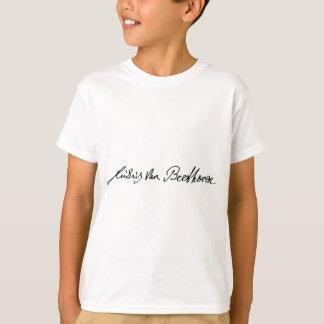 Häfte av musiker Ludwig Van Beethoven Tshirts