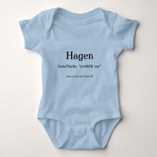 Hagen bebist-skjorta tröjor