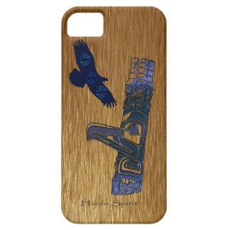 Haidaörn- & för TotemPole inföding konst iPhone 5 Case-Mate Skydd