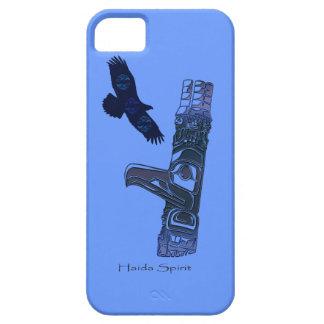 Haidaörn- & för TotemPole inföding konst iPhone 5 Skydd