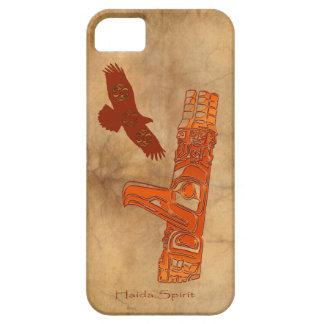 Haidaörn- & för TotemPole inföding konst iPhone 5 Hud