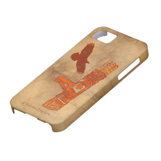 Haidaörn- & för TotemPole inföding konst iPhone 5 Cases
