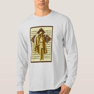 Haile mig Selassie långärmadskjorta Tee Shirt