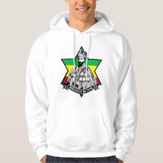 Haile Selassie mig Hooded tröja
