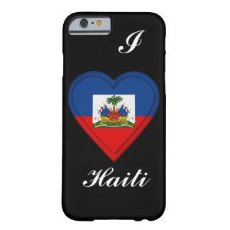 Haiti flagga barely there iPhone 6 fodral