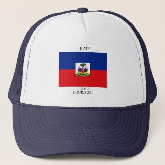 Haiti jordskalv som Fundraising, Memorabilia Truckerkeps