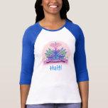 Haiti vapensköld, haitira flaggafärger tröja
