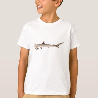 Hajar för illustration för vintageHammerheadhaj Tee Shirt