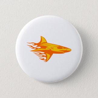 Hajen flammar in standard knapp rund 5.7 cm