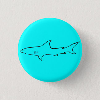 Hajen knäppas mini knapp rund 3.2 cm