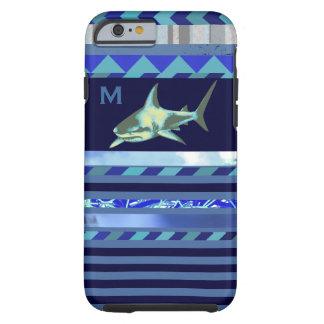 hajfisk med blåttrandar tough iPhone 6 case