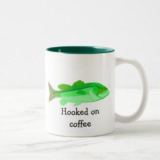 """Hakat på kaffe"" mugg"
