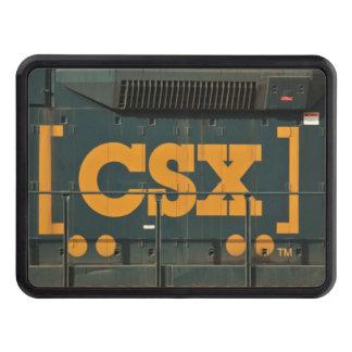 Haken för lastbilen för CSX logotypjärnväg täcker Dragkroksskydd