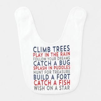 Haklapp för baby för klättringträd 01 hakklapp