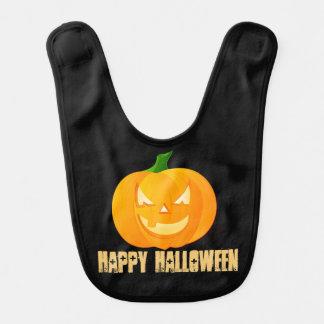 Haklapp för bebis för happy halloweenpumpa gullig