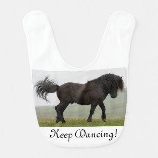 Haklapp för dans för Shetland ponnyhingst Hakklapp