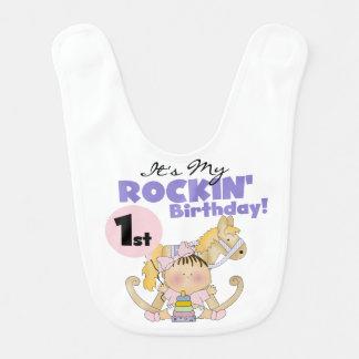 Haklapp för flickaRockin 1st födelsedag