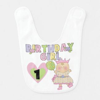 Haklapp för födelsedag för födelsedagflicka 1st