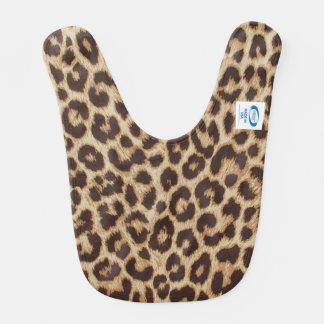 Haklapp för Leopardtryckbaby Hakklapp