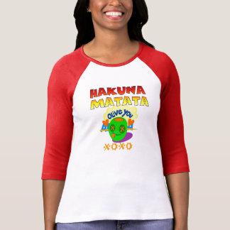 Hakuna Matata älskar jag dig XOXO Tshirts