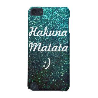 Hakuna Matata- AquaOmbre Sparkles (det iPod handla iPod Touch 5G Fodral
