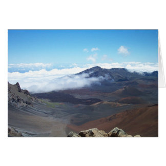 Haleakala Hawaii Hälsningskort