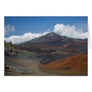 Haleakala Maui Hälsningskort
