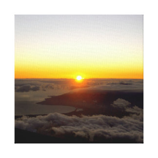 Haleakala solnedgång canvastryck