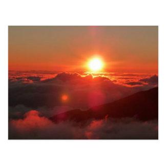 Haleakala soluppgång vykort
