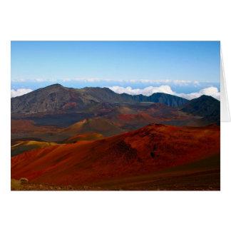 Haleakala vulkan, Maui Hälsningskort