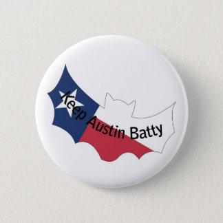 Håll Austin Batty för att knäppas Standard Knapp Rund 5.7 Cm