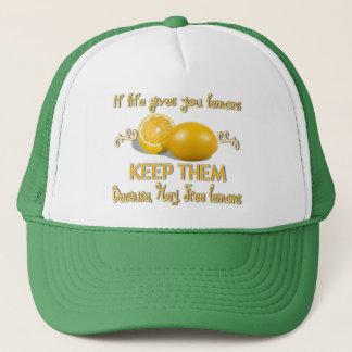 Håll citronerna keps
