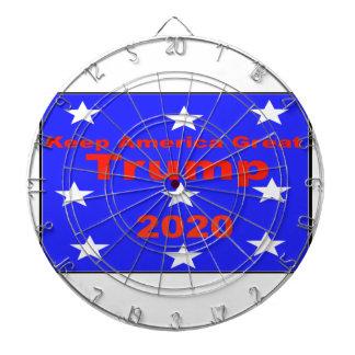 Håll den politiska slogan för Amerika underbar… Darttavla