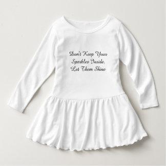 Håll inte din Sparklesinsida, låt dem sken T-shirt