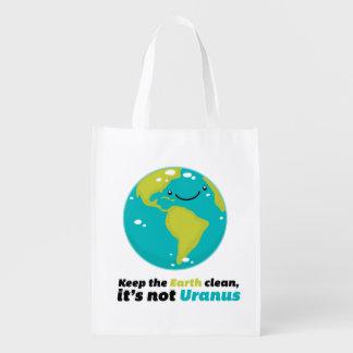 Håll jorden ren återanvändbar påse