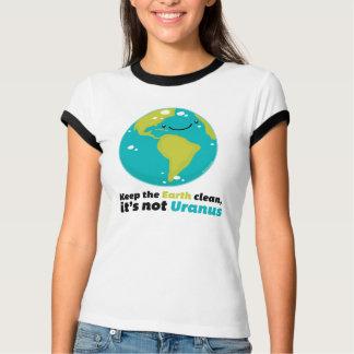 Håll jorden ren t shirts